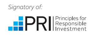 Logo of Principles for Responsible Investment